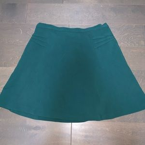 Mossimo Emerald Green Stretchy Skirt